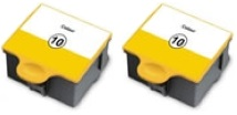 2 x Kodak 10C Compatible Ink Cartridges for Kodak ESP 3