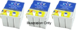 3 x Tri Colour Epson T052 Compatible Ink Cartridges for Epson Stylus Color 670
