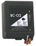 Remanufactured Canon BC02 Black Ink Cartridge for Canon Fax B190