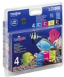 Genuine Brother LC1000VALBP Full Set Multipack