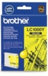 Genuine Brother LC1000Y Yellow Ink Cartridge for Brother FAX-1560