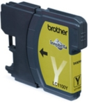 Genuine Brother LC1100Y Yellow Ink Cartridge for Brother MFC-490CW