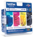 Genuine Brother LC1100VALBP Multipack Set Ink Cartridges for Brother MFC-6490CW