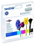 Genuine Brother LC970VALBP Multipack Set Ink Cartridges for Brother DCP-135C