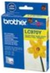 Genuine Brother LC970Y Yellow Ink Cartridge for Brother DCP-135C