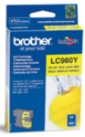 Genuine Brother LC980Y Yellow Ink Cartridge for Brother DCP-145C
