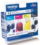 Genuine Brother LC980VALBP Multipack Set Ink Cartridges for Brother DCP-145C