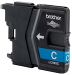Genuine Brother LC985C Cyan Ink Cartridge for Brother MFC-J410