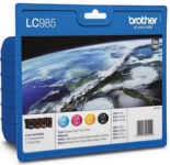 Genuine Brother LC985VALBP Multipack Set Ink Cartridges for Brother MFC-J220