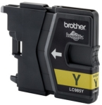 Genuine Brother LC985Y Yellow Ink Cartridge for Brother MFC-J220