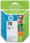 Genuine High Capacity  HP-78 Colour Ink Cartridge (C6578A) for HP PhotoSmart P1000