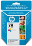 Genuine HP-78 Colour Ink Cartridge (C6578D) for HP DeskJet 950C