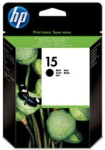 Genuine High Capacity  HP-15 Black Ink Cartridge (C6615D)