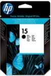 Genuine HP-15 Black Ink Cartridge (C6615NE) for HP PSC 750XI