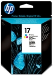Genuine HP-17 Colour Ink Cartridge (C6625AE) for HP DeskJet 843C