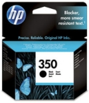 Genuine HP-350 Black Ink Cartridge (CB335EE) for HP PhotoSmart C4580