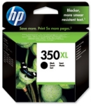 Genuine High Capacity  HP-350XL Black Ink Cartridge (CB336EE) for HP PhotoSmart C4580