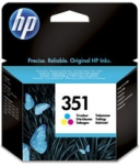 Genuine HP-351 Colour Ink Cartridge (CB337EE) for HP PhotoSmart C4580