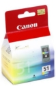 Genuine Canon CL-51 High Capacity Colour Ink Cartridge