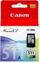 Genuine Canon CL-511 Tri Colour Ink Cartridge for Canon Pixma MP499