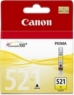 Genuine Canon CLI-521Y Yellow Ink Cartridge for Canon Pixma MP980