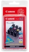 Genuine Canon Cyan, Magenta & Yellow CLI-526C/M/Y Pack for Canon MG8250