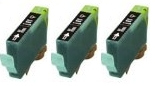 3 x Black Canon BCI-6BK Compatible Ink Cartridges for Canon I9100