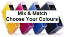 Canon PGI-520BK/CLI-520 Compatible Mix & Match 4 Pack
