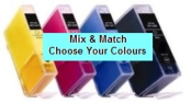 Canon PGI-5BK/CLI-8 Compatible Mix & Match 4 Pack