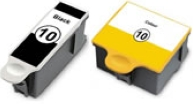 Kodak 10B & 10C Compatible Ink Cartridges - 1 each for Kodak Hero 6.1