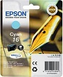Genuine Epson T1622 Cyan Ink Cartridge (Pen) for Epson WF-2510WF
