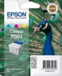 Genuine Epson T001 Five Colour Ink Cartridge (Peacock)