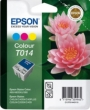 Genuine Epson T014 Tri Colour