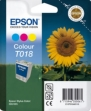 Genuine Epson T018 Tri Colour Ink Cartridge (Sunflower) for Epson Stylus Color 680