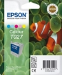 Genuine Epson T027 Five Colour Ink Cartridge (Clown Fish) for Epson Stylus Photo 820