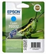 Genuine Epson T0332 Cyan Ink Cartridge (Grasshopper) for Epson Stylus Photo 960
