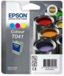 Genuine Epson T041 Tri Colour Ink Cartridge (Paint pots) for Epson Stylus CX3200