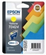 Genuine Epson T0424 Yellow Ink Cartridge for Epson Stylus C82