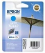 Genuine Epson T0442 Cyan Ink Cartridge (Parasol) for Epson Stylus CX3650