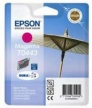 Genuine Epson T0443 Magenta Ink Cartridge (Parasol) for Epson Stylus CX3650