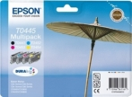Genuine Epson T0445 Multipack Ink Cartridges (Parasol)