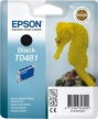 Genuine Epson T0481 Black Ink Cartridge (Seahorse) for Epson R320
