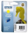 Genuine Epson T0484 Yellow Ink Cartridge (Seahorse) for Epson R340