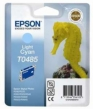 Genuine Epson T0485 Light Cyan Ink Cartridge (Seahorse) for Epson R320