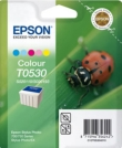Genuine Epson T053 Five Colour Ink Cartridge (Ladybird)