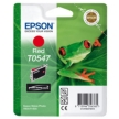 Genuine Epson T0547 Red Ink Cartridge (Frog)