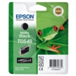 Genuine Epson T0548 Matte Black Ink Cartridge (Frog)
