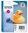 Genuine Epson T0553 Magenta Ink Cartridge (Duck) for Epson R240