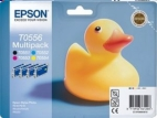 Genuine Epson T0556 Multipack Ink Cartridges (Duck) for Epson R240