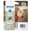 Genuine Epson T0612 Cyan Ink Cartridge (Teady Bear) for Epson DX3850